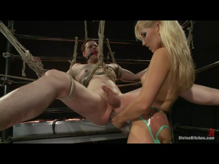 Divinebitches -  Ashley Fires and Zak Tyler   bdsm bdsm